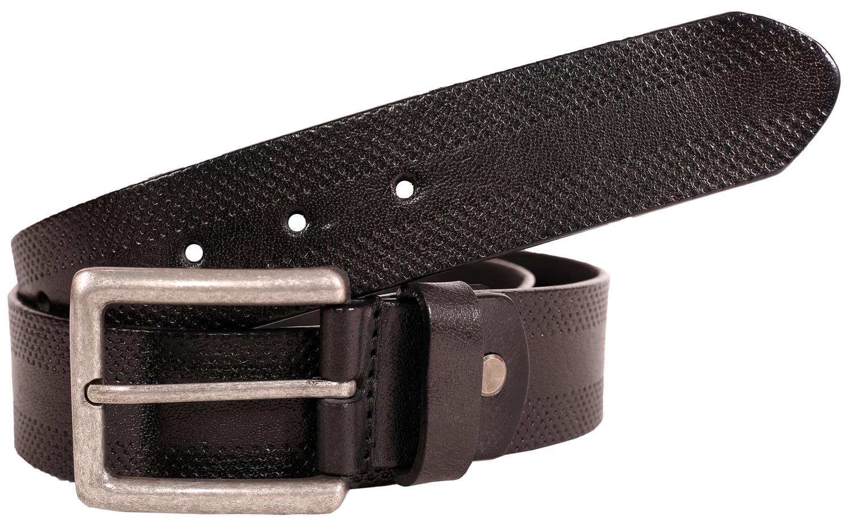 Mens Soft Premium Leather Antique Roller Buckle Tie Die 40mm Wide Belts S-3XL