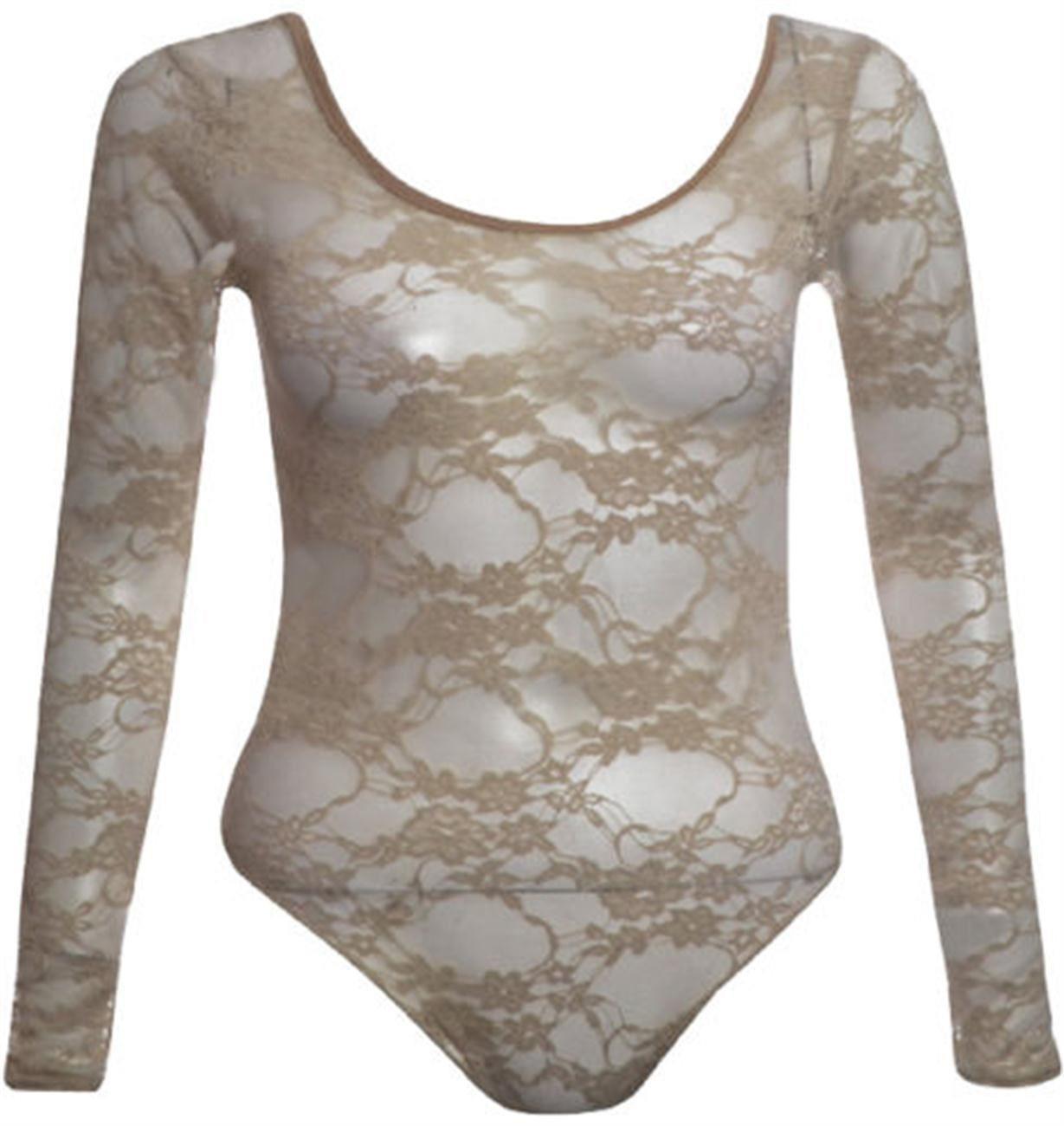 0a292b842ae TAYA Plus Size Floral Lace Bodysuits Tops 16-24 - Plus Sizes