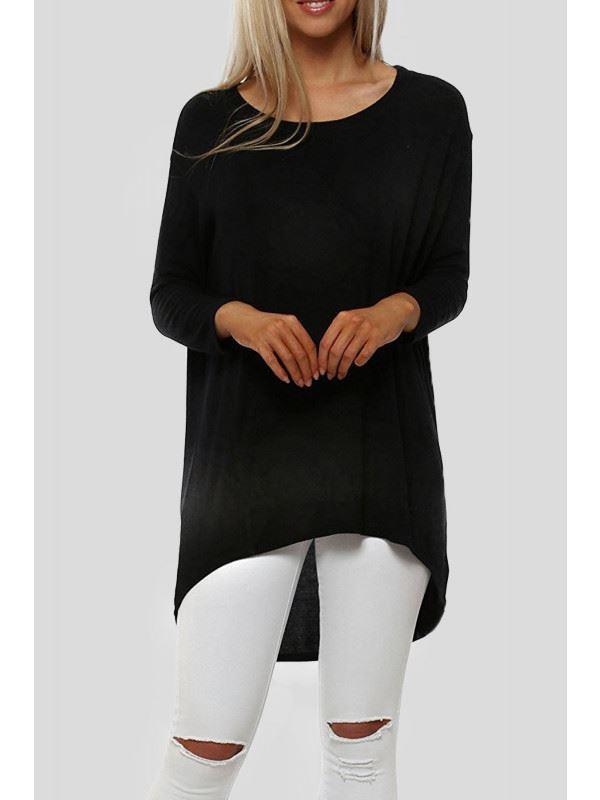 Maryam Plain Long Sleeve Top 8-14