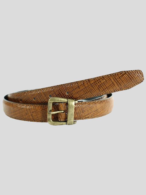 Ada Womens Reptile Skin Premium Genuine Leather Belts M-4XL