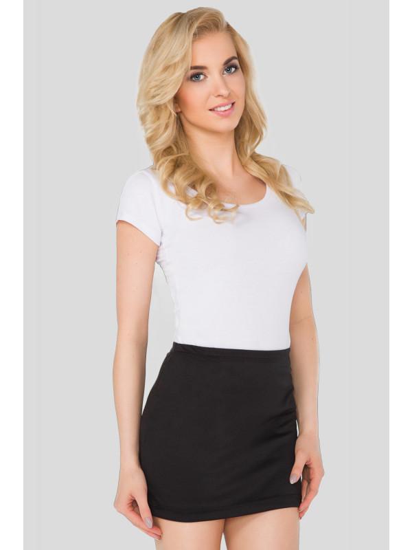 INDI Plus Size Mini Ponti Causal Bodycon Skirts 16-22