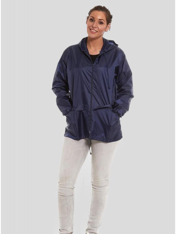 Amelia Showerproof Lightweight Kagool Raincoats S-L