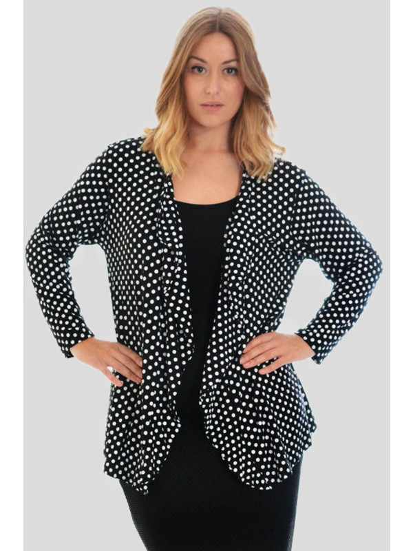 Brettlyn Black Polka Dot Tops 14-16