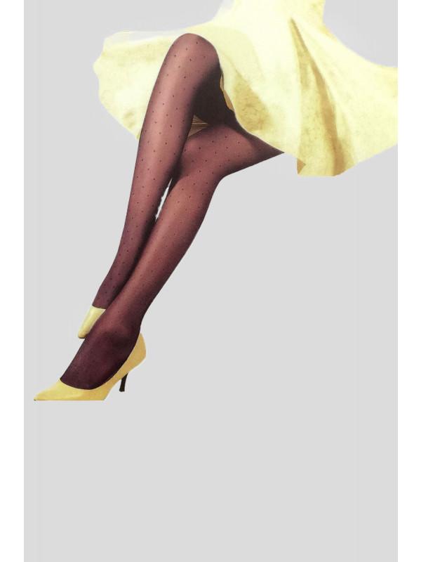 Cleo Dotted Diamond Mesh Stockings