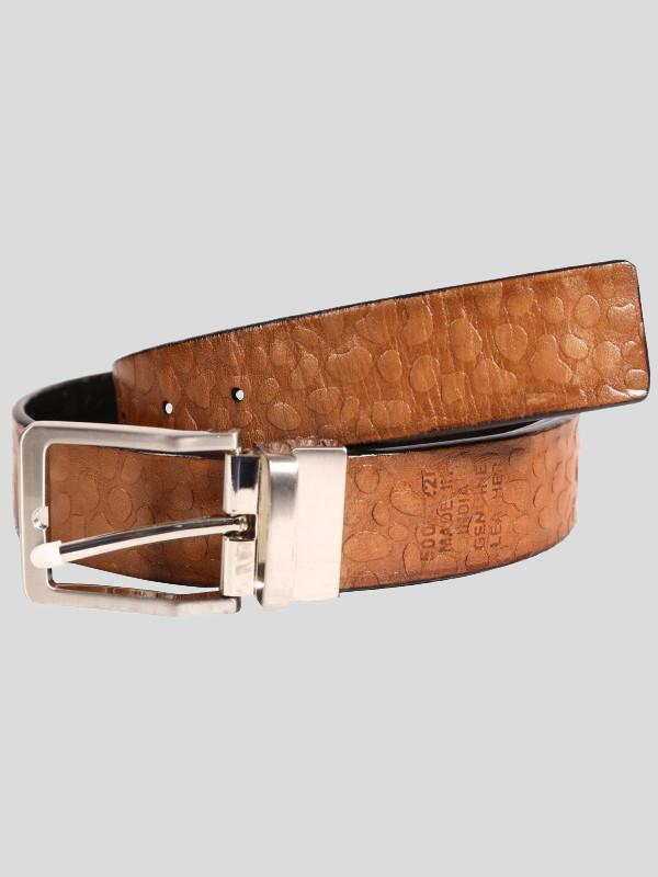 Dalton Mens Textured Genuine leather Belts S-3XL