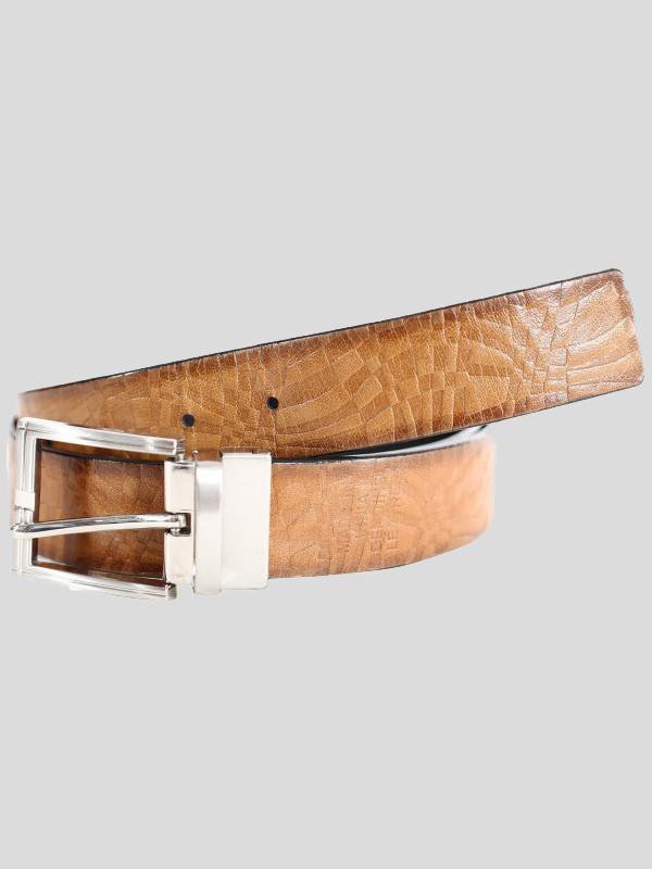 Drake Mens Multi Textured Genuine leather Belts S-3XL