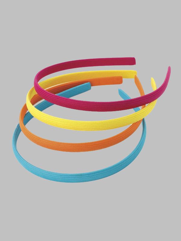 Elisa 1cm Wide Four Piece Headband Hair Accessories