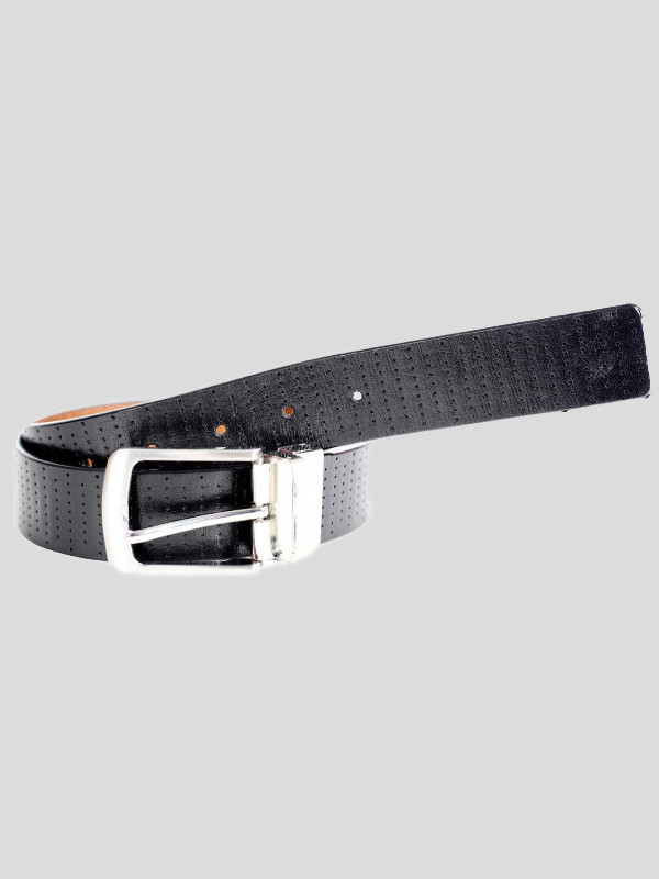 George Mens Rotating Buckle Tooling Genuine leather Belts S-3XL
