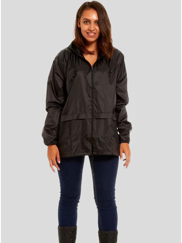 Erika Plus Size Kagool Showerproof Raincoat Jackets L-2XL