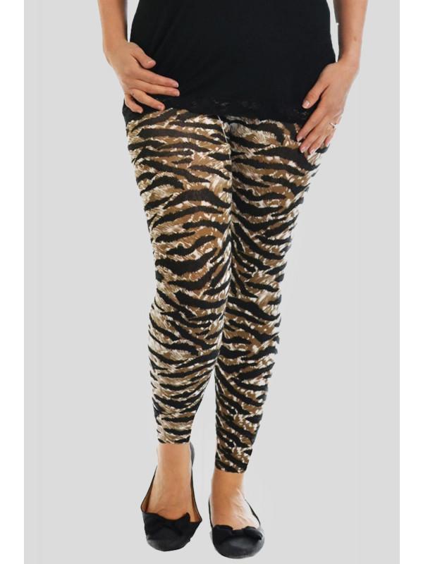 Tess All Over Tiger Print Leggings 12-14