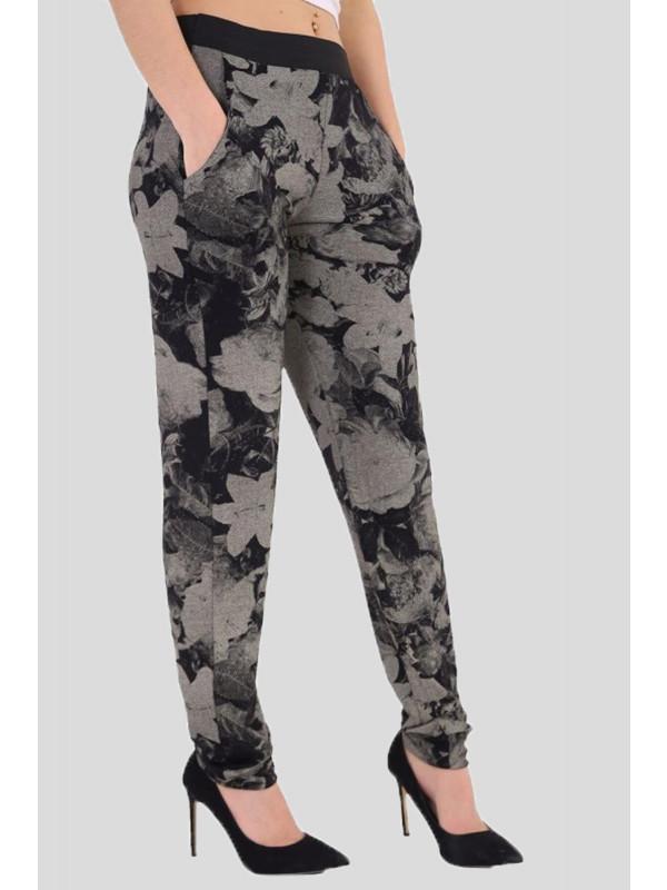 Cecily Tyedye Floral Harem Trouser 8-14