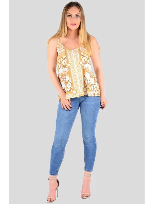 Katherine Plus Size Slinky Cami Vest Top 16 - 22