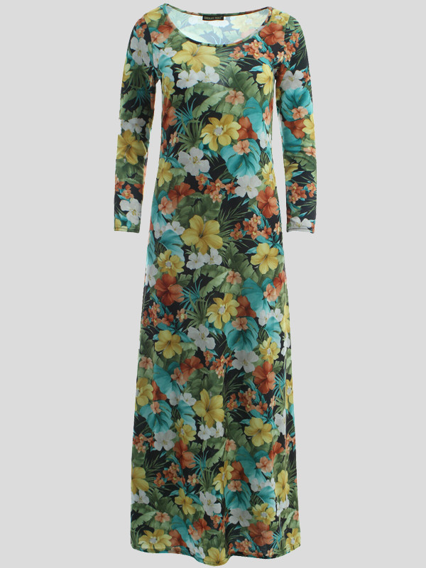 Kayleigh Tropical Floral Dress 8-14