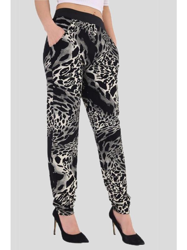 AMANI Tyedye Leopard Harem Trouser 8-14