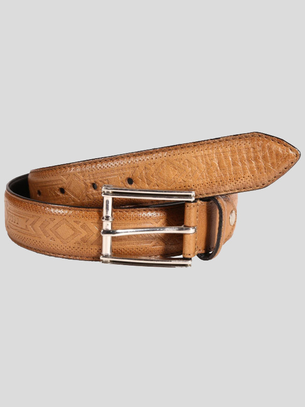 Matthew Mens Crafted Buckle Genuine leather Belts S-3XL