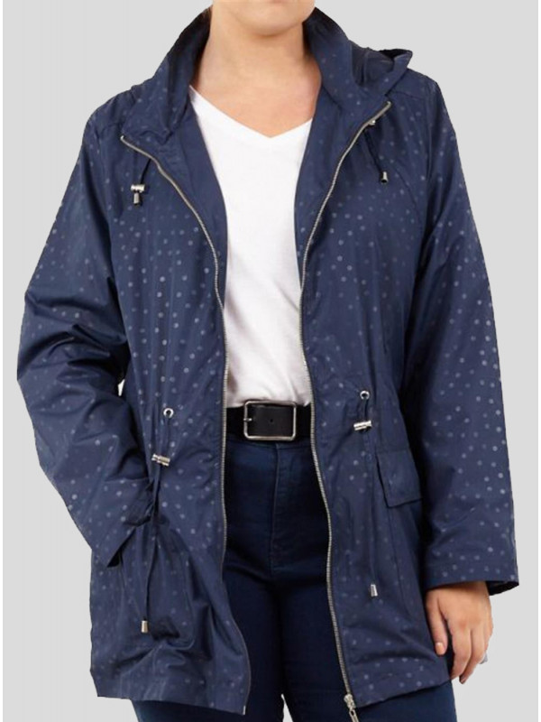 Maya Mermaid Showerproof Mac Raincoats Jackets 8-16