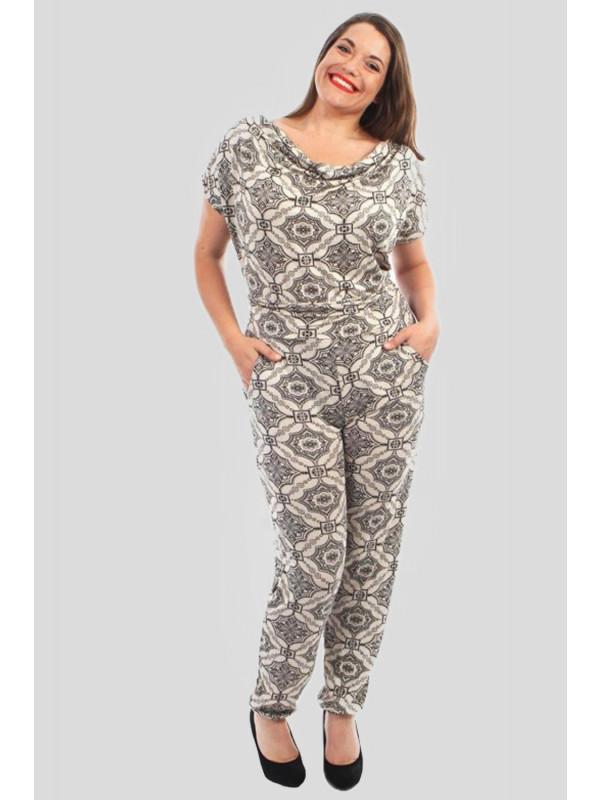 Millie Plus Size Hareem Jumpsuits Dress 16-28