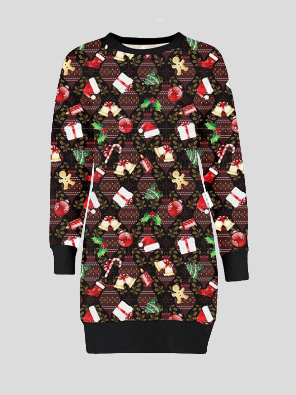 Tara Plus Size Gift Bells Xmas Jumpers 16-22