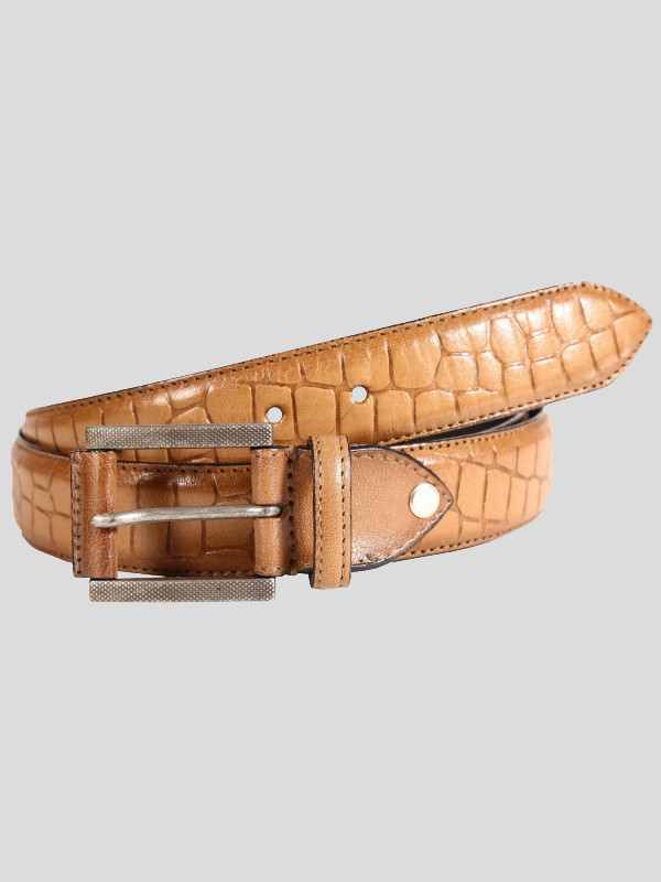Raymond Mens Roll Pin Buckle Genuine leather Belts S-3XL