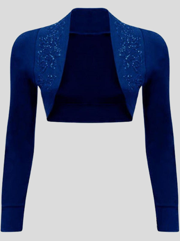 Brette Sequin Design Bolero Shrugs 8-14