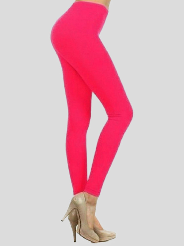 Florrie Plus Size Neon Colour Gymnastic Pants Leggings 16-22