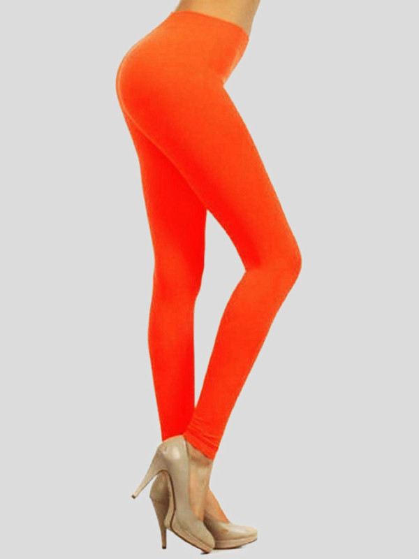 Selena Neon Colour Gymnastic Pants Leggings 8-14