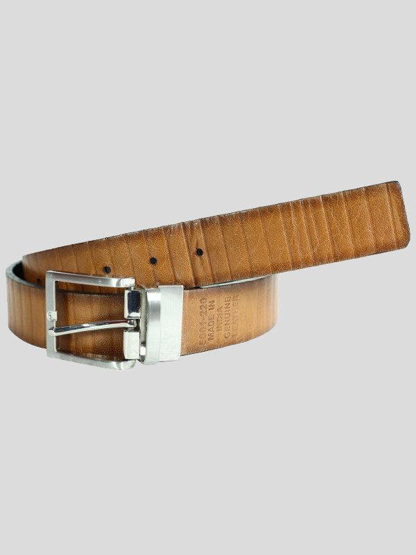 Simon Mens Rotating Buckle Waxed Genuine leather Belts S-3XL