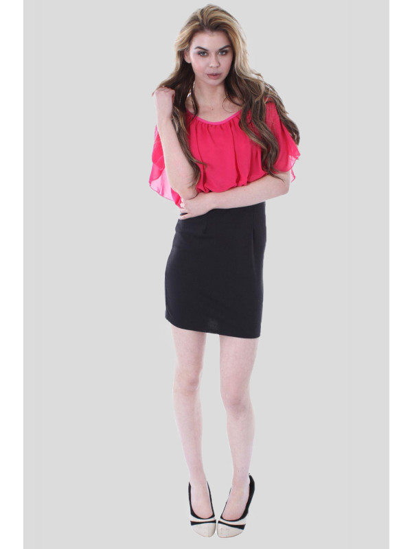 SYLVIA  Chiffon Skirt Dress 8-14
