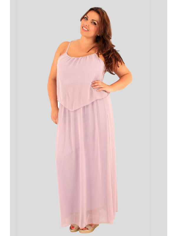 c4ec4a7415162 Zara Plus Size Long Chiffon Dress 16-28