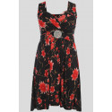 Caitlyn Floral Buckle Knee Length Dress 8-14