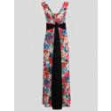Hallie Grecian Boob Knot Maxi Dress 8-14