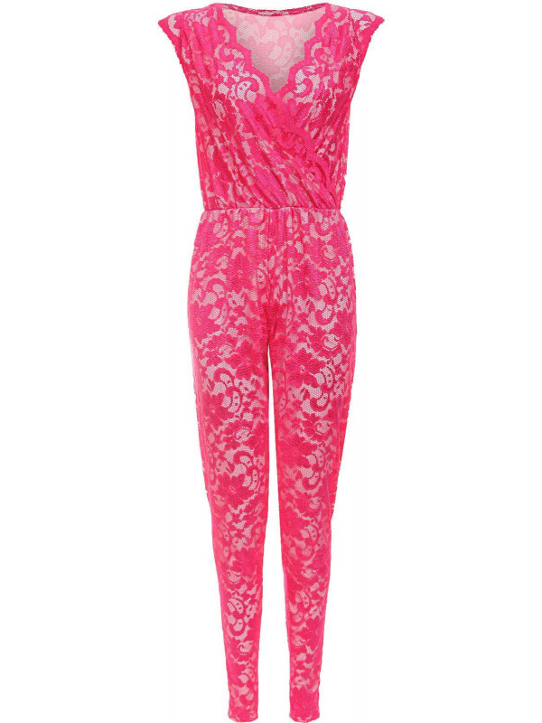 MATILDA Lace Floral Jumpsuit All-in-one Playsuit Party Dress 8-14