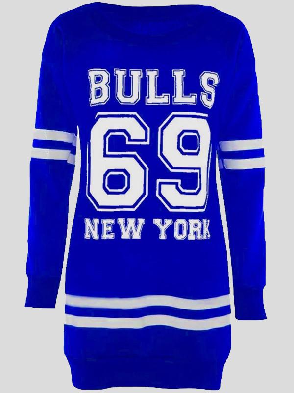 Olivia 69 Bulls Print Jumpers 8-14