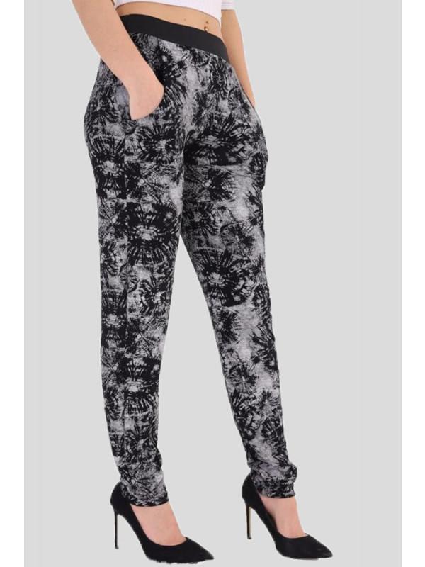 Amanda Plus Size Tyedye Web Print Harem 16-26