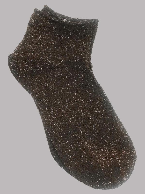 Amelie Glitter Xmas Sparkle Warm Ankle Socks