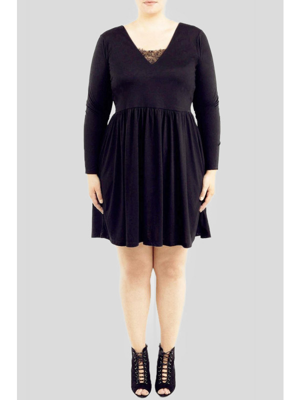 Bella Plus Size flared Skater Evening Party Dress 16-22