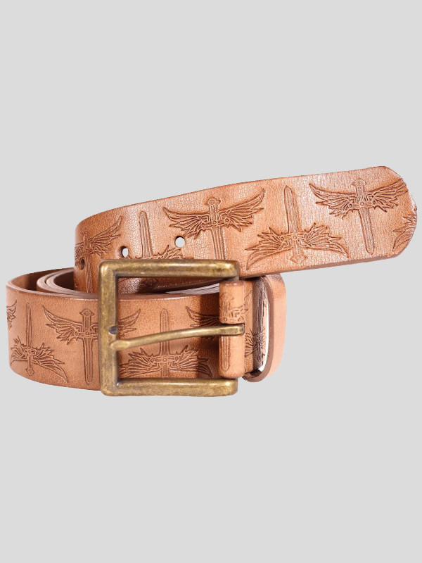 Chad Mens Pin Buckle Genuine leather Belts S-3XL