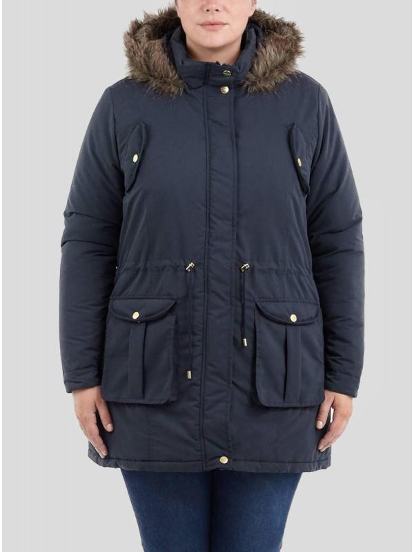Danni Plus Size Faux Fur Parka Winter Jackets 18-24