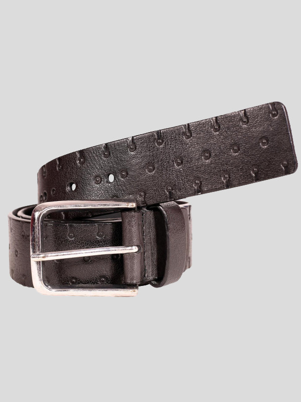 David Mens Brass Antique Buckle Genuine leather Belts S-3XL