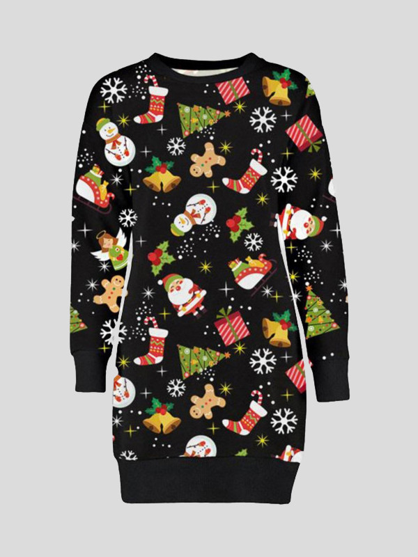 Babra Black Ginger Bread XMAS JUMPERS 16-22