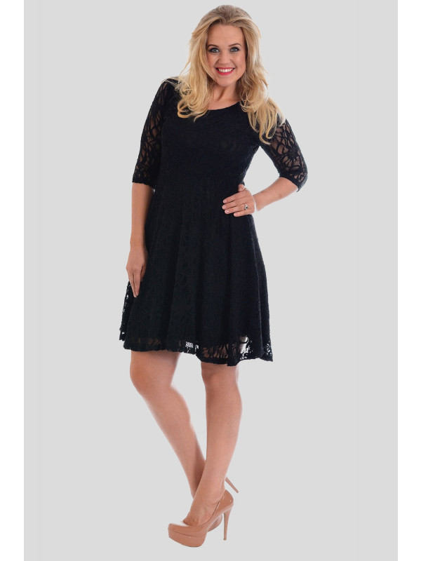 Gemma Plus Size Skater Dress 16-28