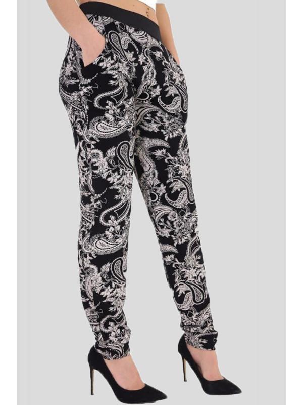 Alicia Plus Size Paisley Harem Pants 16-26