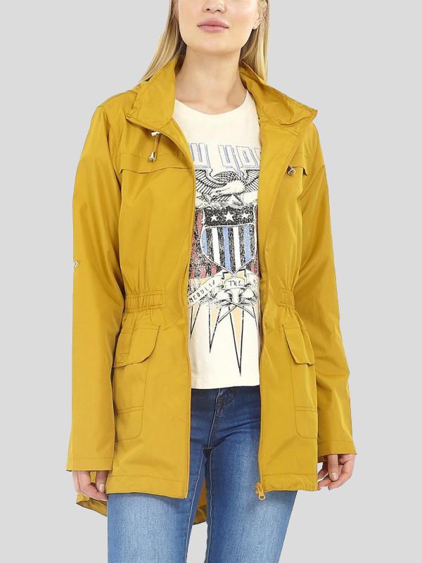 Heidi Plus Size Hooded Raincoats Jackets 18-24