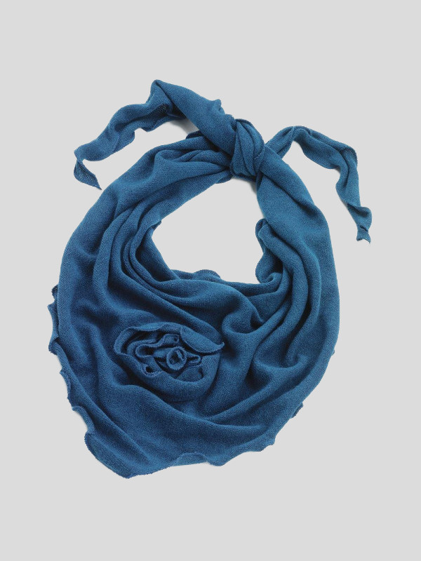 Ivy Trinagle Centre Flower Stylish Scarfs