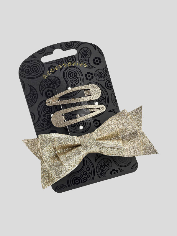 Kassidy Ladies Bow Clip and Snap Clip