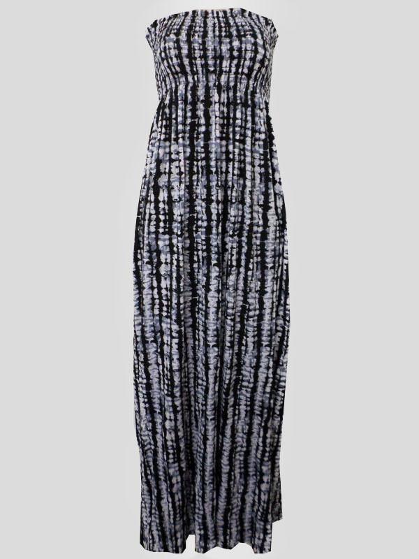 KATELYN Graphic Print Sheering Dress 8-14