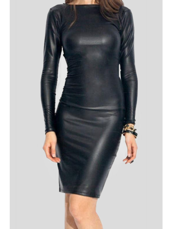Lexi Wetlook Bodycon Dress 16-26