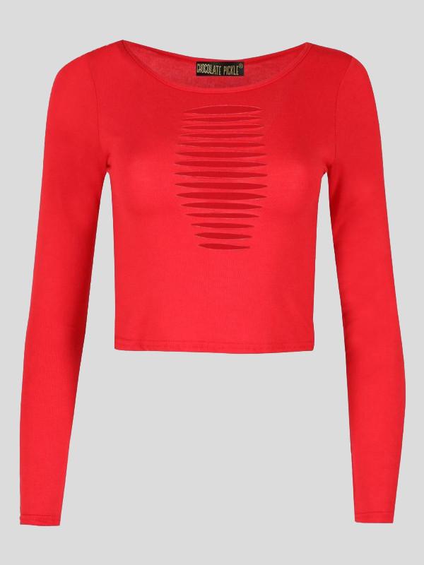 Libby Laser Cut Mini Vest Top 8-14