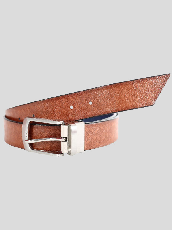 Morton Mens 2 Sided Reversible Genuine leather Belts S-3XL