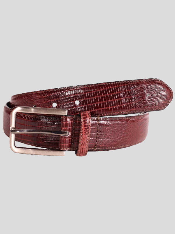 Peter Mens Real Leather Animal Skin Textured Belts S-3XL
